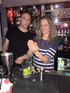 Cocktail making 4